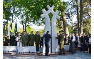 Persipynę kryžiai primins Žemaitijos karių – savanorių didvyriškumą