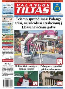 Palangos tilto laikraštis, Data: 2012-09-27, Numeris: 74 (1117)