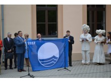 Mėlynoji vėliava vėl plėvesuosPalangos paplūdimyje.