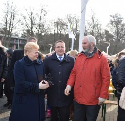 Ramutis Šeštokas (dešinėje) yra mero Šarūno Vaitkaus visuomeninis patarėjas.
