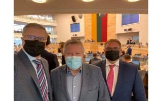 """Koronavirusas užklupo Seimo konservatorius. Mindaugas Skritulskas: """"Su koronavirusu užsikrėtusiu Kupčinsku komitete matėmės labai trumpai"""""""