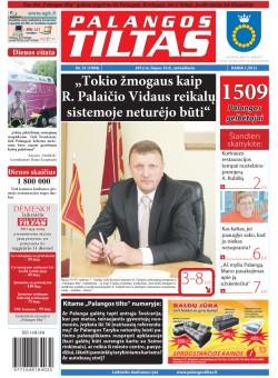 Palangos tilto laikraštis, Data: 2012-07-09, Numeris: 51 (1094)