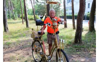 Palangiškis paaiškino, kodėl nepardavė paties sukonstruoto dviračio už 1000 eurų