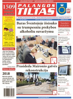 Palangos tilto laikraštis, Data: 2017-09-07, Numeris: 64(1595)