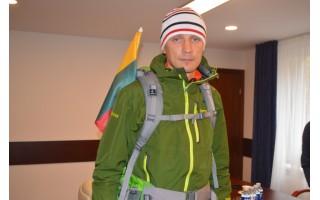Žygeivis dėl vėžiu sergančių vaikų apkeliavo Lietuvą