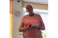 """Palangos poetė Janina Vambutienė išleido poezijos knygą """"Saulės diskas"""""""