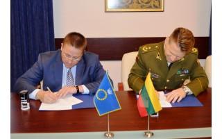Palanga pasirašė sutartį su LK Krašto apsaugos Savanorių pajėgų Žemaičių apygardos 3-iąja rinktine