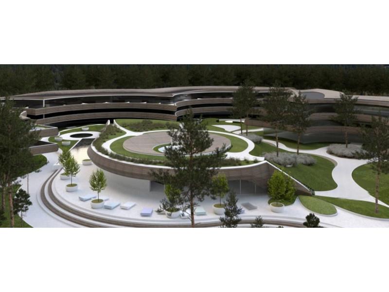 Prie Palangos planuojamas modernus daugiabučių, viešbučių ir SPA kompleksas