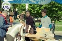 Palangos jaunimas Tūkstančio stalų šventėje stebino gausa