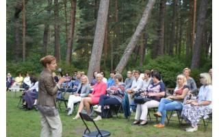 Mokytojų konferencijoje diskutuota apie kūrybišką mokymąsi