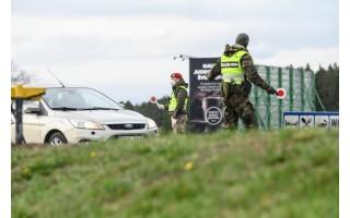 Palangoje šeštadienį patikrinta 1568 automobiliai, neįleista 82, surašyta 12 protokolų už KET pažeidimus