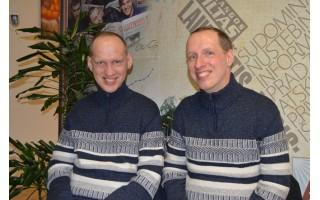 Broliai Valdas ir Alfredas Umbrasai