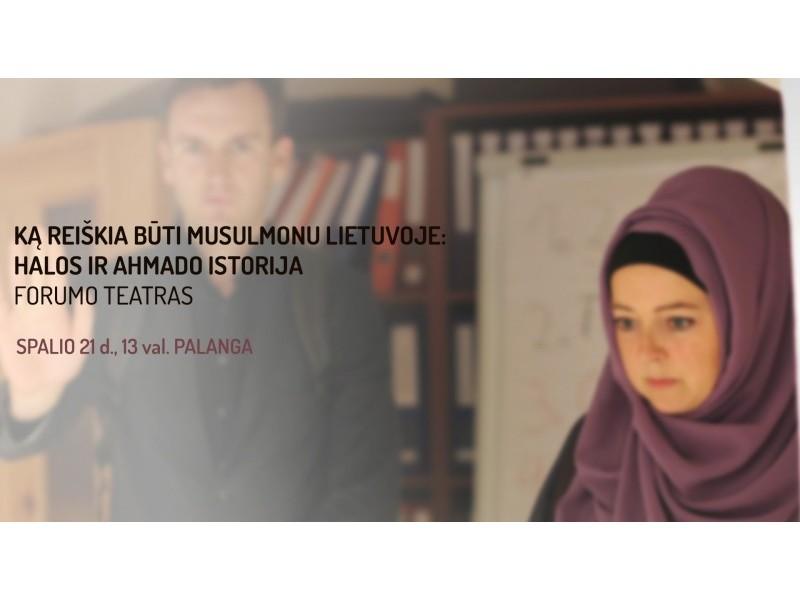 Kviečia į forumo teatro pasirodymą Kurhauzo palėpėje