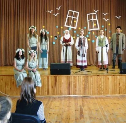 """Šventosios pagrindinėje mokykloje – festivalis """"Žuvėdros skrydis"""""""