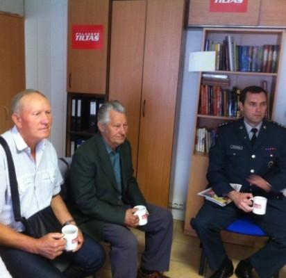 Susitikime su Viešosios policijos skyriaus viršininku G. Pocevičiumi palangiškiai iškėlė kurortui aktualias problemas.