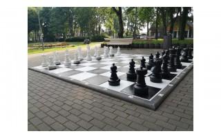 Eimutis Židanavičius kviečia ne į piketą prieš merą, o sužaisti partiją milžiniškais šachmatais (FOTO GALERIJA)