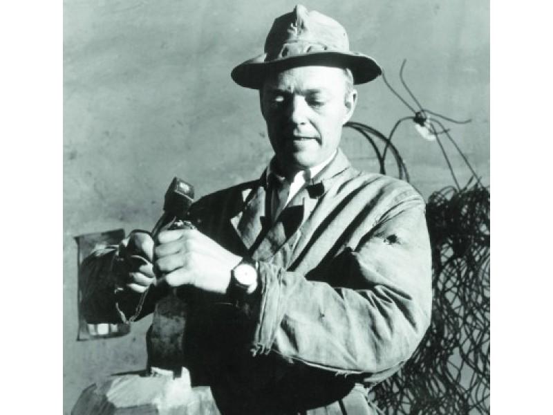 Skulptorius Antanas Mončys. 1962 metai. A. Kezio nuotr.