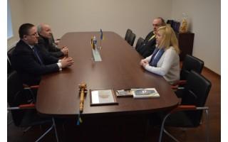 Savivaldybėje lankėsi ukrainiečiai