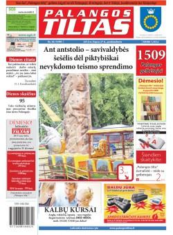 Palangos tilto laikraštis, Data: 2012-07-26, Numeris: 56 (1099)