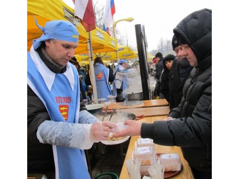 """Lietuvos kultūros sostinė Palanga intensyviai rengiasi kitą savaitę, vasario 16 d. vyksiančiai žvejiškai šventei """"Palangos stinta""""."""