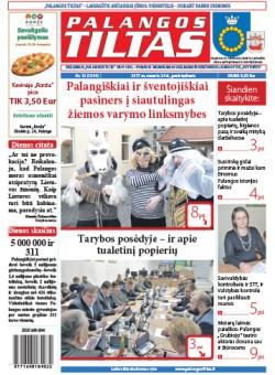 Palangos tilto laikraštis, Data: 2017-02-23, Numeris: 13 (1544)