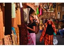 Marokas: spalvos, tekstūros, kvapai ir formos.