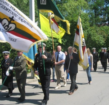 Palangiškiai dalyvavo paminklo generolo J. Žemaičio tėvams pašventinime
