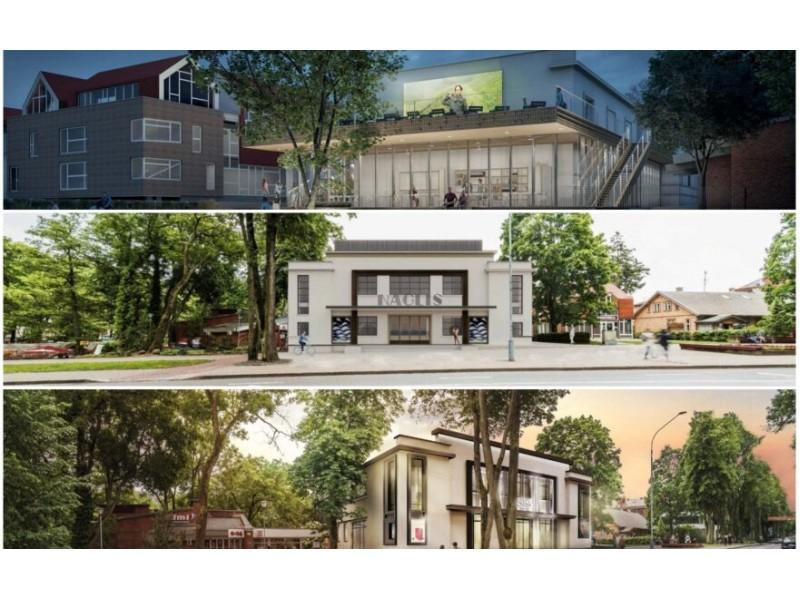 Lietuvos architektų sąjunga // Projekto autorių vizualizacija