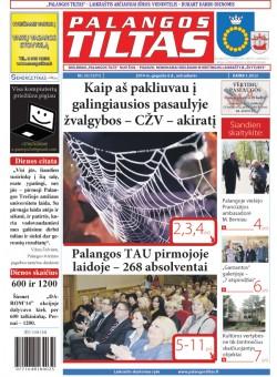 Palangos tilto laikraštis, Data: 2014-05-05, Numeris: 33(1271)