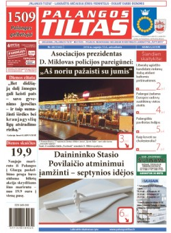 Palangos tilto laikraštis, Data: 2016-09-12, Numeris: 68 (1502)