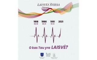 Laisvės šviesa jaunimo lūpomis – Lietuvos nepriklausomybės atkūrimo diena Palangoje