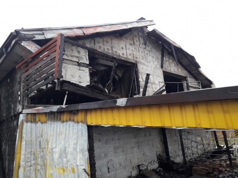 Po gaisro Palangoje, Lydekų gatvėje, nukentėjo dvi šeimos