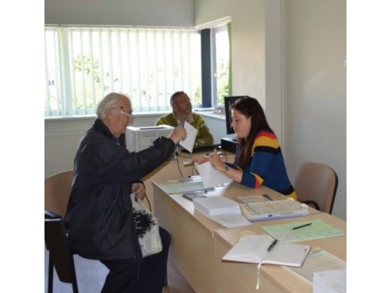 Išankstiniame balsavime Palangoje rinkėjai buvo itin pasyvūs