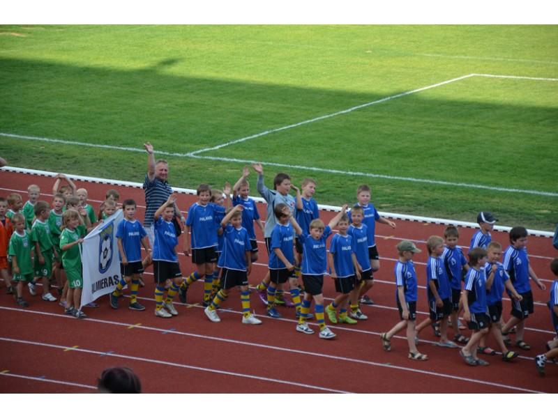 Mažieji futbolininkai savo gabumus demonstravo Latvijoje
