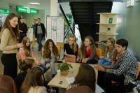Mokinių savivaldos forume išrinktas naujas Palangos MSIC pirmininkas