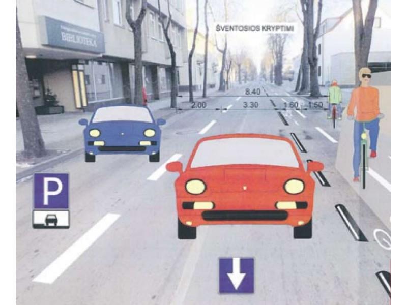 Palangos visuomenė kviečiama pasisakyti dėl vienpusio eismo Vytauto gatvėje