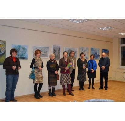 Parodą pristatė į jos atidarymą atvykę autoriai ir projekto kuratoriai.