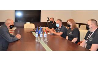 """Palangos komanda išlydėta į intelektualinį kultūrinį ir pažintinį ralį """"Ryterna modul Mototourism rally Lietuva"""""""