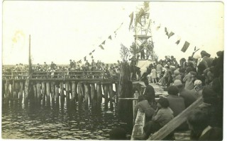 Palangos tilto istorija - burių romantika