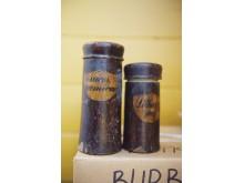 Dvi medines dėžutes vaistažolėms laikyti, ko gero, yra seniausias radinys.
