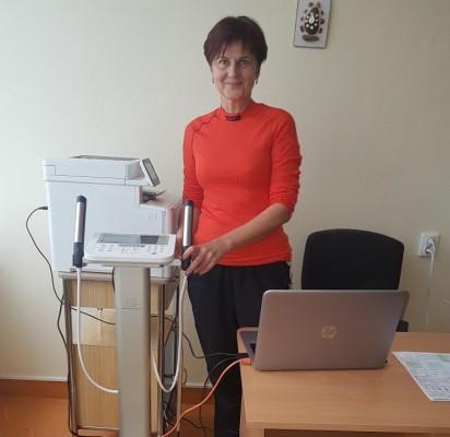 Kineziterepeutė-ergoterepeutė Raimonda Tuinylienė maloniai aptarnaus kiekvieną pacientą
