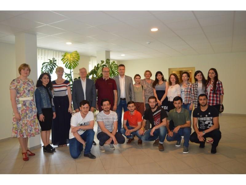 Palangos savivaldybėje skambėjo gruziniškos dainos