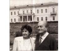 A. Tiškevičius su žmona Uršule nuo 1990-ųjų kasmet vasaromis ilsėdavosi Palangoje.