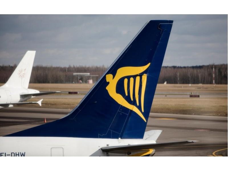 """""""Ryanair"""" atšaukia skrydžius iš Palangos į Dubliną iki kovo"""