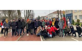 Dovana Lietuvai – žygis iki Prezidento ąžuolo