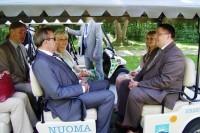 Palangoje lankėsi Estijos Prezidentas Toomas Hendrik Ilves su žmona Evelin