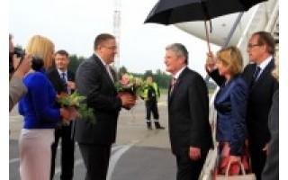 Palangoje apsilankė Vokietijos ir Lietuvos prezidentai