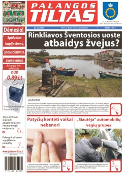 Palangos tilto laikraštis, Data: 2011-03-22, Numeris: 22 (966)