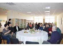 Grafų Tiškevičių giminės istorijos tyrinėtojo pasakojimo svečiai klausėsi neįprastoje aplinkoje.