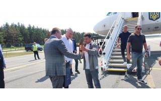 Palangoje apsilankė Lietuvos prezidentas Gitanas Nausėda ir Ukrainos prezidentas Volodomyr Zelensky (FOTO GALERIJA)